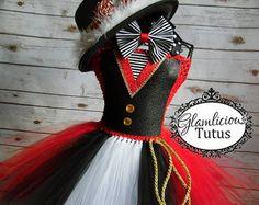 Ringmaster Tutu Dress Costume Ringmaster by GlamliciousTutus - Halloween Ideas 2018 Costume Ringmaster, Costume Halloween, Newborn Halloween Costumes, Adult Costumes, Dance Costumes, Costume Dress, Halloween 2018, Halloween Ideas, Tie Dress