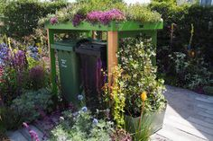 Shop - Secure cycle parking and binstores — Front Yard Company Ltd Garden Ideas For Small Yards, Garden Ideas Uk, Garden Projects, Garden Inspiration, Garden Fun, Garden Path, Outdoor Projects, Landscaping With Rocks, Front Yard Landscaping