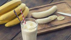 Un smoothie à la banane et aux flocons d'avoine, de quoi faire le plein…