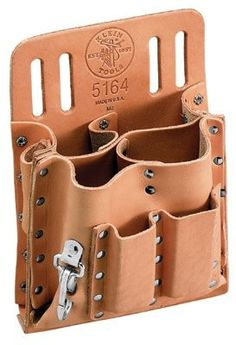 Features:  -Material: Leather.  -Riveted and stitched for extra durability…
