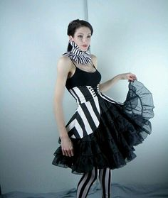 skirt only, and with smaller stripe