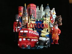 Absolutely Everything Fridge Magnet, London Souvenirs,
