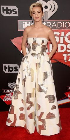Katy Perry in August Getty attends the 2017 iHeartRadio Music Awards. #bestdressed