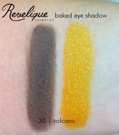 Revelique baked eye shadow 30 volcano #revelique #eyeshadow #baked #volcano