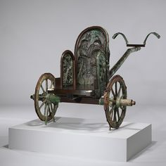 Chariot [Etruscan; From Monteleone, Italy] (03.23.1) | Heilbrunn Timeline of Art History | The Metropolitan Museum of Art