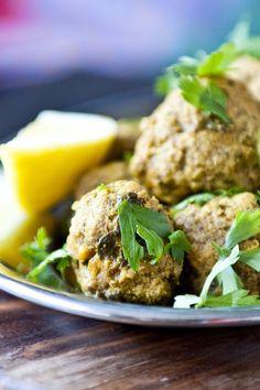Feta and Olive Meatballs Recipe