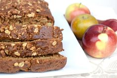 Gingerbread Apple Loaf – The Nutritious Princess