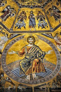 Florence Battistero di San Giovanni Ceiling #TuscanyAgriturismoGiratola