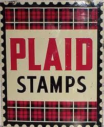 Tartan stamps.
