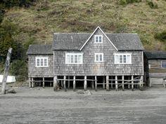 Isla de Chiloé, abril de 2003.