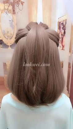 braid hairstyle idea 5 Minutes to Learn Short Hair Style - Beliebt Haar Und Beauty Easy Hairstyles, Girl Hairstyles, 5 Minute Hairstyles, Spring Hairstyles, Scarf Hairstyles, Hair Upstyles, Grunge Hair, Hair Hacks, Makeup Hacks