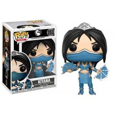 From Mortal combat, Kitana, as a stylized pop vinyl from Funko! the figure stands 3 inches and comes in a window display box. Check out the other Mortal combat figures from Funko! From Mortal combat, kitana, as a stylized pop vinyl from Funko!