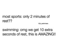 Swimming compared to other sports: 27 Hilarious Pictures That Will Make Way Too Much Sense To Swimmers Swimming Funny, Swimming Memes, I Love Swimming, Open Water Swimming, Swimming Workouts, Swimming Tips, Competitive Swimming, Synchronized Swimming, Interior Natural