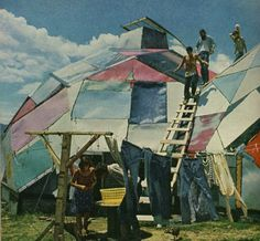 Geodesic tent. i want this to be my home