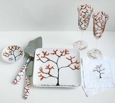 So cute!!! Autumn Personalized Wedding Reception 6Piece by MaryElizabethArts, $148.00