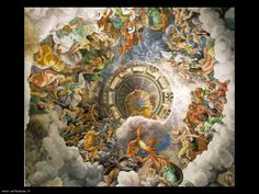 a very famous piece by Giulio Romano c. during the renaissance. it is a painting that was created in northern Italy! Art Inspo, Rennaissance Art, Art Actuel, Paintings Tumblr, Art Et Architecture, Assemblies Of God, Renaissance Paintings, Classical Art, Michelangelo