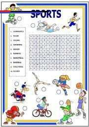 Crossword Puzzles For English Class 453 Sports Activities For Kids First Grade Math Worksheets Kindergarten Subtraction Worksheets