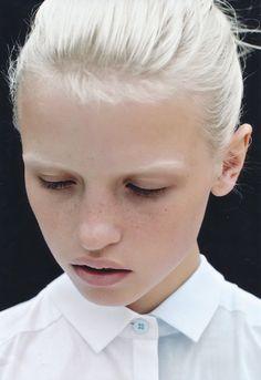 anja, my favorite model
