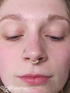 16 Best Septum Images Body Piercings Multiple Ear Piercings