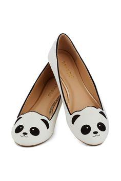 Panda flats - LOVE LOVE LOVE!