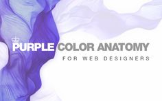 Purple Color in Web Design [Infographics]