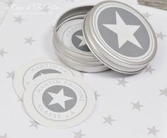 personalized sticker star I personalisierte Aufkleber Star I Casa di Falcone