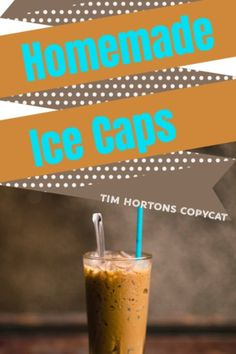 Here's a great way to copycat Tim Hortons Ice Cap Recipe for Home. Sweet Treat I love this easy recipe for a Hot day when you need a boost of energy! Cappuccino Recipe, Iced Cappuccino, Tim Hortons Iced Coffee, Tim Hortons Iced Capp Recipe, Copycat Recipes, Gourmet Recipes, Vitamix Recipes, Cookbook Recipes, Dessert Recipes