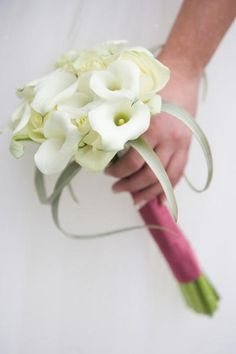 bruidsboeket calla
