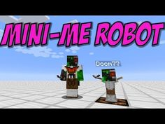 Minecraft MINI-ME Robot - Animated Armor Stand Android - YouTube