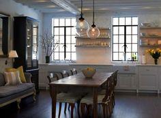 Sage Design Farmhouse Style Eat-in Kitchen | Remodelista
