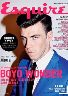 Gareth Bale se sincera en las páginas de la revista Esquire