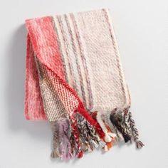 Warm Multi Stripe Boho Throw Blanket - Acrylic by World Market Boho Throw Blanket, Throw Blankets, Throw Cushions, Decorative Throws, Warm, Cozy, River House, Jenni, Cuddle