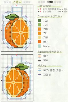 Cross Stitch Fruit, Cross Stitch Boards, Cross Stitch Kitchen, Mini Cross Stitch, Cross Stitching, Cross Stitch Embroidery, Cross Stitch Patterns, Little Stitch, Perler Patterns