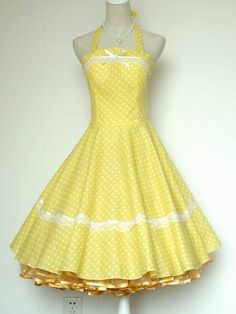 50s 60s Vintage Polka Dots Swing Jive Rockabilly Dress | eBay