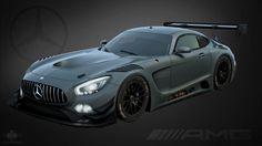 Mercedes AMG GT3, ROOM 8 STUDIO on ArtStation at https://www.artstation.com/artwork/NBd2d
