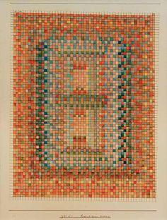 Das Kunstwerk Portal einer Moschee, 1931.161 (S 1). - Paul Klee liefern wir als Kunstdruck auf Leinwand, Poster, Dibondbild oder auf edelstem Büttenpapier. Sie bestimmen die Größen selbst.