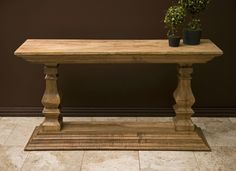 Colgary Console Table - Extremely versatile, the Colgary Console Table is from IMAX