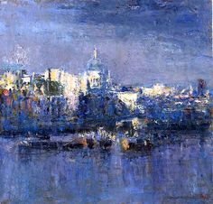Andrew Gifford From The Southbank Towards St Pauls