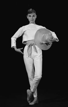 Audrey Hepburn and Givenchy, a match made in Heaven.