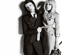 Tom Sturridge & Sienna Miller in Burberry's A/W 2013
