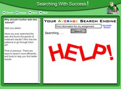 Vaughan Memorial Library : Tutorials : Searching with Success!