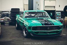 Boss 302 Mustang -