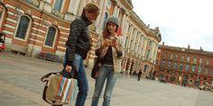 Il faisait chaud ces derniers temps sur Toulouse à quelques jours des soldes ! La semaine dernière jusqu'à 18 degré avant que la grisaille ne couvre la ville rose..