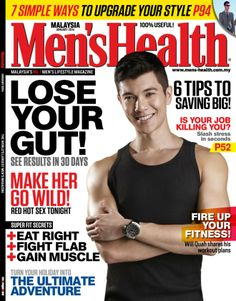 Men's Health Malaysia - January 2014 : To kick off the new year in true Men's Health style, this issue is jam-packed with practical strategies on shedding off those extra kilos, increasing stamina and endurance, and building rock-hard muscle mass.