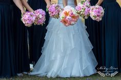 Pink and navy is always a winner! | Pomegranate Photography | Ginger Lily & Rose Floral Studio