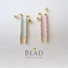 Ideas for jewerly making tutorials beads inspiration Clay Jewelry, Jewelry Crafts, Beaded Jewelry, Earrings Handmade, Handmade Jewelry, Jewelry Accessories, Jewelry Design, Diy Jewelry Inspiration, Bijoux Diy