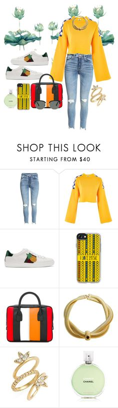 """Untitled #956"" by brandi-gurrola on Polyvore featuring The Ragged Priest, Gucci, Casetify, Comme des Garçons, Givenchy, Luv Aj, Chanel and Persol"