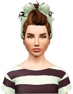 Colores Urbanos hairstyles 05 retextured by Pocket for Sims 3 - Sims Hairs - http://simshairs.com/colores-urbanos-hairstyles-05-retextured-by-pocket/