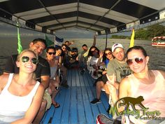 Travelers on a guided getaway enjoying the Isletas boat tour in Granada, Nicaragua... See more at: https://www.costaricamonkeytours.com/costa-rica-tour-28/