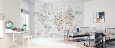 World Traveler I – high-quality wall murals with free UK delivery – Photowall Wallpaper Samples, Custom Wallpaper, Photo Wallpaper, Wall Wallpaper, Create Your Own Wallpaper, Standard Wallpaper, House Map, Hand Painted Walls, Perfect Wallpaper